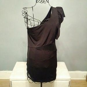 Little Black Mini Dress (LBD) w/ sheer cut outs